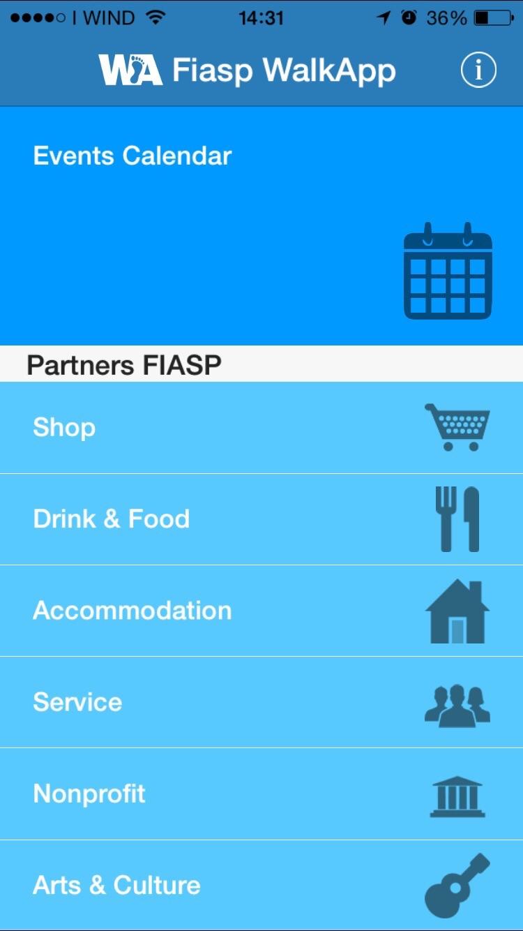 Calendario Fiasp Fvg.Home Walkapp